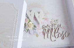 Ślubna kartka w pudełku 263
