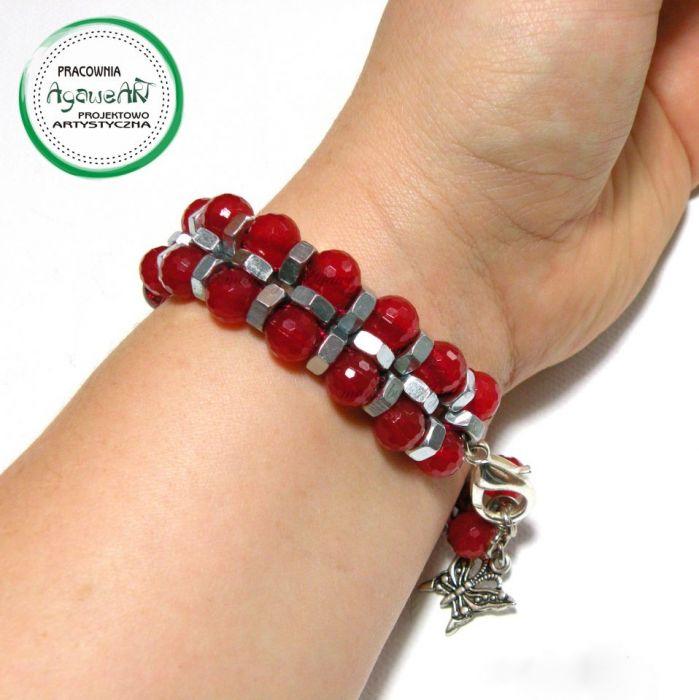 Bransoletka red rock - AgaweART