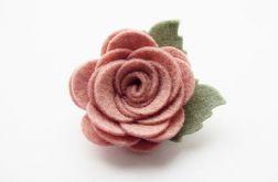 Spinka do włosów różyczka cameo pink