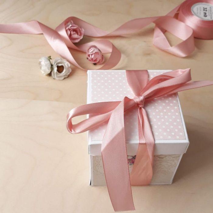 Pamiątka Chrztu dla dziewczynki-kartka box #2