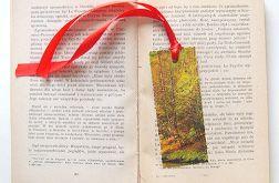 Zakładka do książki jesień 5