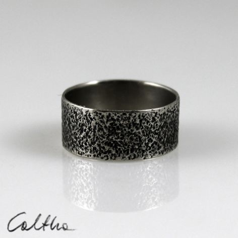 Metalowa obrączka - rozm. 18 - 150426-02