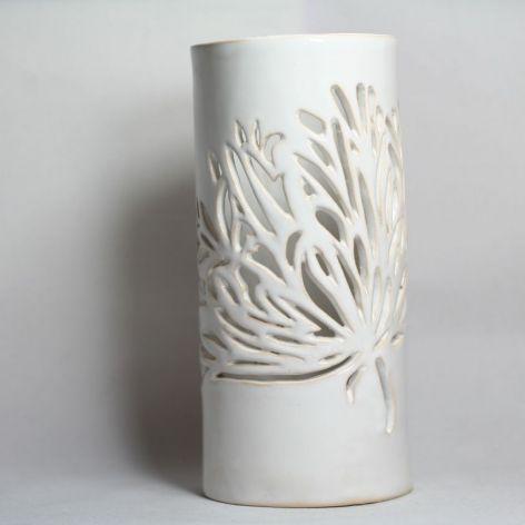 Lampion - wazon na suche bukiety - kwiat
