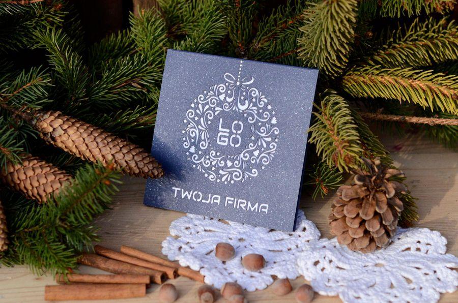 Kartka świąteczna - wianuszek