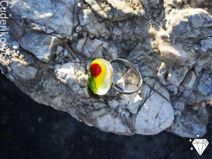 Pierścionek żabie oczko