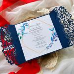 Zaproszenia ślubne okazjonalne na komunię chrzest urodziny  - Środek i tekst