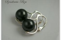 Kolczyki Swarovski Elements Crystal Black Pearl