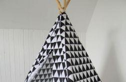 wigwam, tipi trójkąty