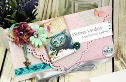 Kartka urodzinowa- w krainie Alicji