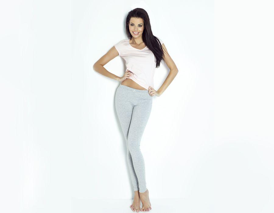 Bawełniane legginsy IVON-PS09-L-SZARE