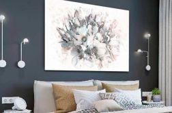 Pastelowy obraz Bukiet magnolii 120 x 80 cm