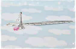 Zakochany Paryż - zakładka do książki