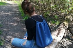 Worek /plecak granatowy