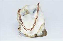 łańcuszek miedziany - bransoletka