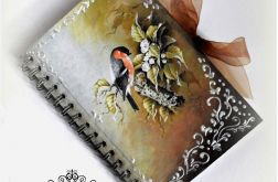 Notes w stylu retro.Decoupage