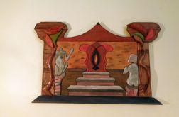 "mozaika drewniana ""Altar"""