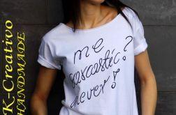 """t-shirt  """"SARCASTIC"""""""
