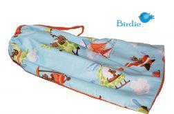 Woreczek na obuwie, ubranie - Pies  & Samolot by Birdie