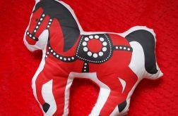 Folkowy koń - poduszka minky