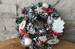 Stroik z szyszek Boże Narodzenie