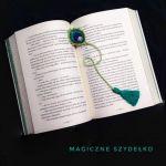 Zakładka pawie pióro - Zakładka do książki z pawim piórem