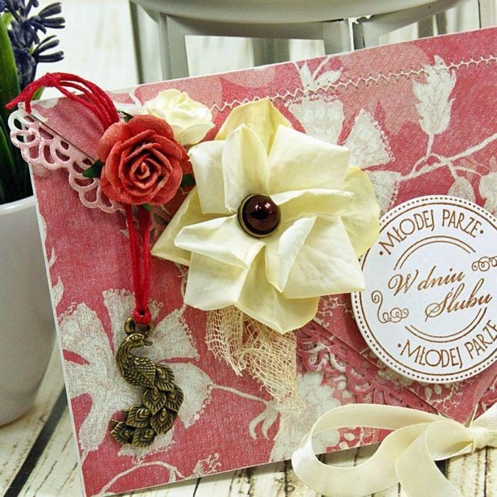 Kartka z okazji ślubu-czerwcowa winnicą (k1) - null