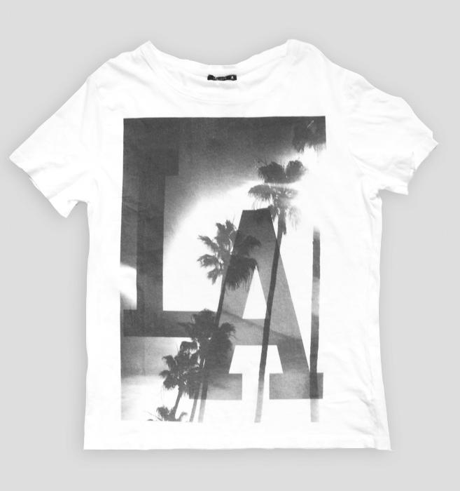 t-shirt biały z nadrukiem - rozmiar XXL