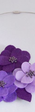 Kwiaty we fioletach