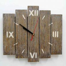 Zegar ścienny drewniany mały c.rzymskie