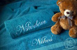 Haftowany ręcznik z imieniem dziecka