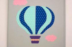 Pastelowy balonik