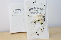Młodej Parze - ślubna kartka w pudełku