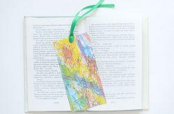 Kolorowa zakładka do książki nr 16