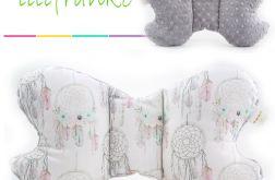 Poduszka Podróżna łapacze - szary