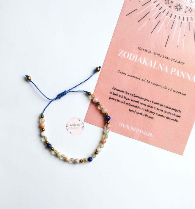 Bransoletka Panna I - Bransoletka jest jedną z dwóch propozycji dla zodiakalnej Panny.