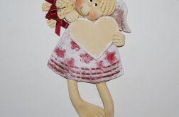 Serce dla Agatki - anioł