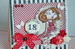 Kartka urodzinowa 18