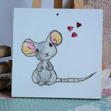 Obrazek z myszką