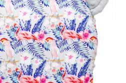 Poduszeczka z uszkami flamingi - szary