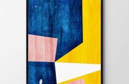Plakat abstrakcja #4 50X70 B2