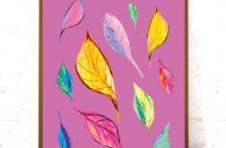 30x40 kolorowa grafika do domu - lato plakat