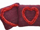 Walentynkowe poduszki ;o)