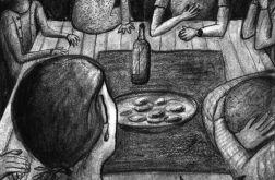 Kolacja - oryginalny rysunek 9806
