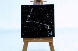 Kartka-Magnes: Znaki zodiaku-Ryby