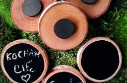 Magnes na lodówkę drewienko tabliczka