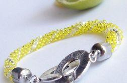 Cytrynowa bransoletka