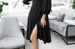Sukienka kopertowa DOROTEA XL