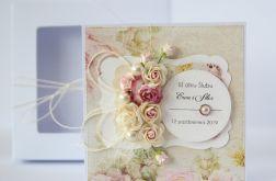 Kartka ślubna z personalizacją + pudełko 3
