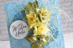 Bukiet przepięknych róż w dniu urodzin