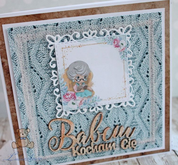 Kartka na Dzień Babci Grannie 3 GOTOWA